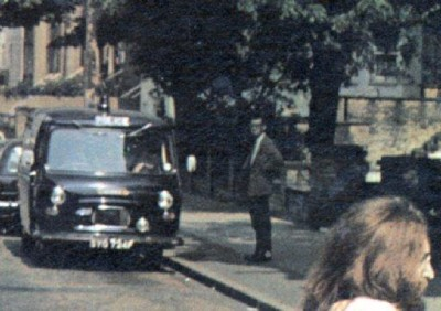 Paul Cole on cover Beatles album Abbey Road