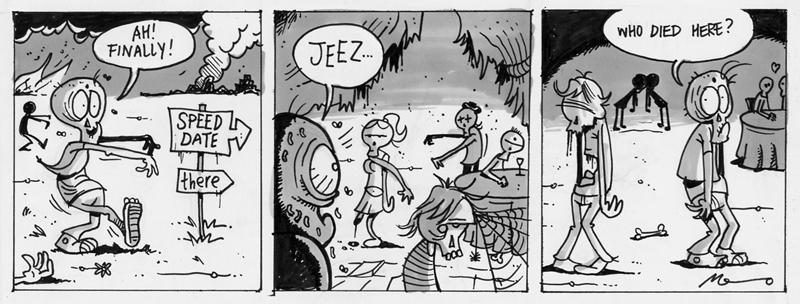Zombieshit - Menno Kooistra - www.mennomai.nl