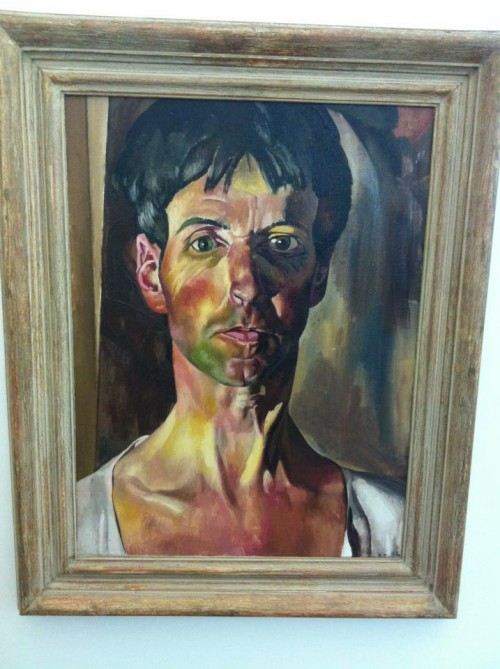 Zelfportret Stanley Spencer