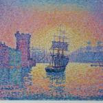 Entrée du port de Marseille door Paul Signac