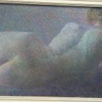 Liggend naakt door Leo Gestel