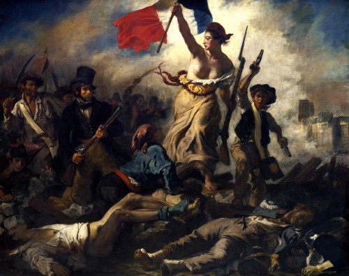 Eugene Delacroix - La Liberté guidant le peuple