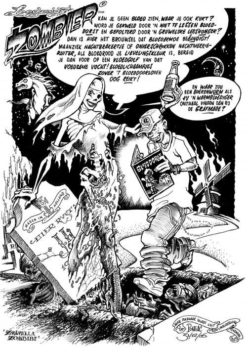Peter Pontiac – Illustratie voor Bloeddorst (2006)
