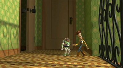 Shining tapijt in Toy Story