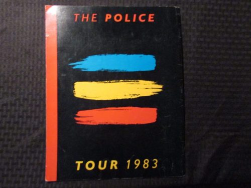 1983 The Police Tour Book